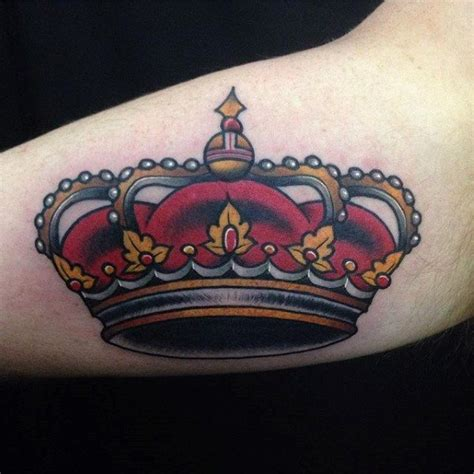 traditional crown tattoo 50 traditional crown designs for school ideas