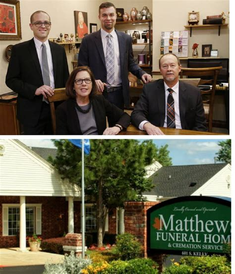 matthews funeral home cremation service