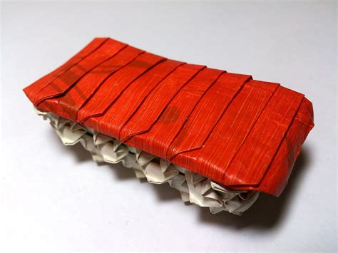 Origami Sushi - delicious looking origami food that you can almost taste