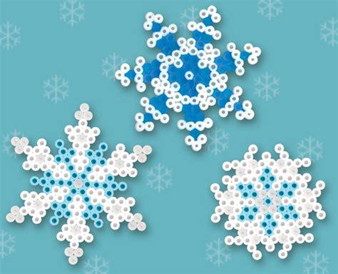 perler snowflakes perler bead patterns u create