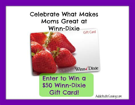 Winn Dixie Gift Cards - winn dixie gift card giveaway