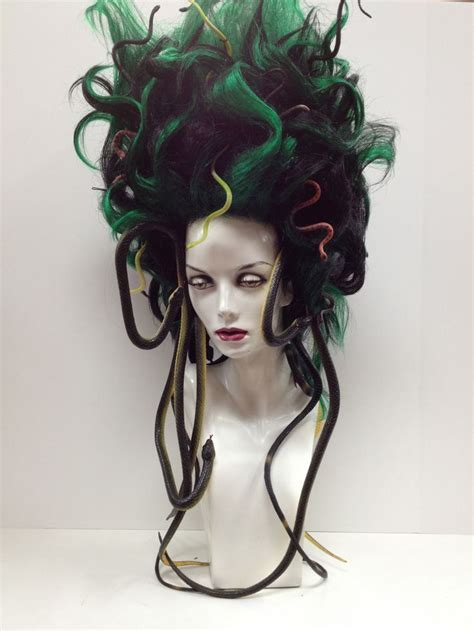 how to style costume wigs quot medusa wig halloween quot holy crap this is awesome