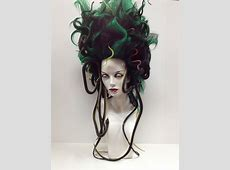 """""""Medusa Wig. Halloween."""" Holy crap. This is awesome ... Medusa Hair Extensions"""