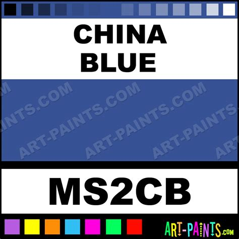 china blue tints paints ms2cb china blue paint china blue color marshall tints paint