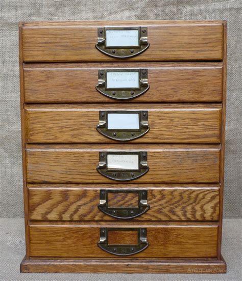 antique map file cabinet vintage desk top filing cabinet in oak antiques atlas