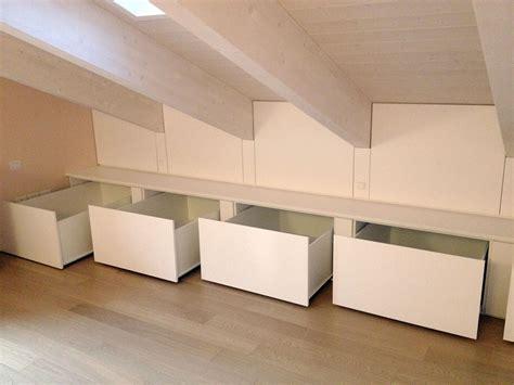 mobili per sottotetto armadi su misura treviso venezia e mestre andrilegno