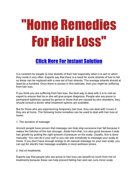 home remedies for hair loss for over 50 home remedies for hair loss