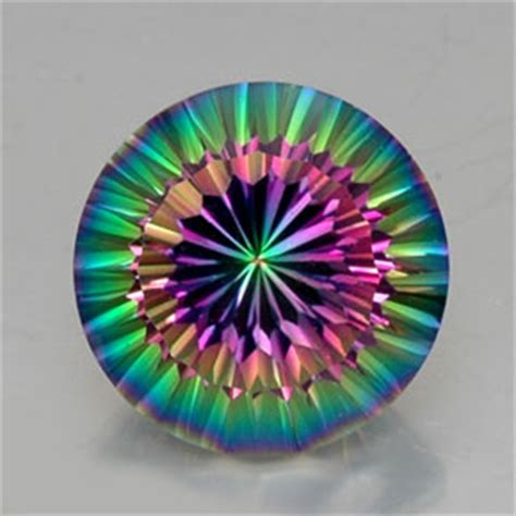 Mistic Quart 12 carat top rainbow mystic quartz gem from brazil