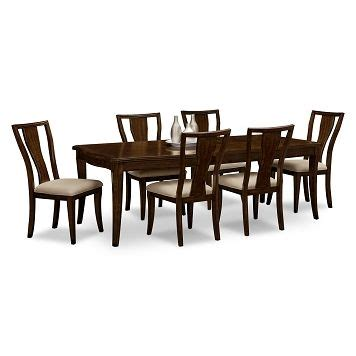 westin dining room sideboard value city furniture westin dining room 7 pc dinette value city furniture