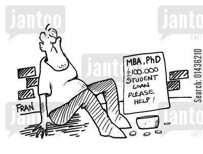 Federal Loans For Mba by Phd Humor From Jantoo