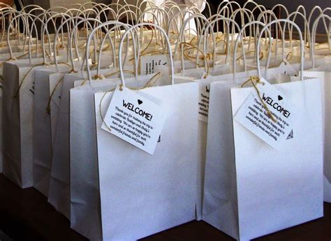 Lovely Ache: Wedding Welcome Bags for Out of Town Guests