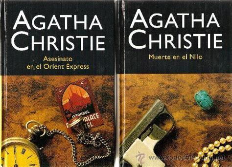 coleccion agatha christie 6 libros comprar libros de terror misterio y polic 237 aco en