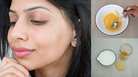 diy mask to clear skin diy mask for clear glowing skin turmeric yogurt