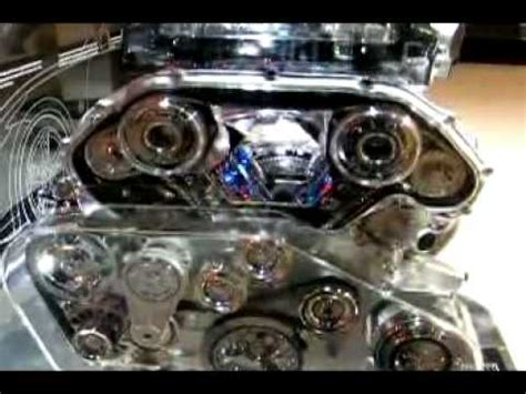 how does a cars engine work 2010 nissan armada windshield wipe control nissan 370z engine display at the la auto show youtube