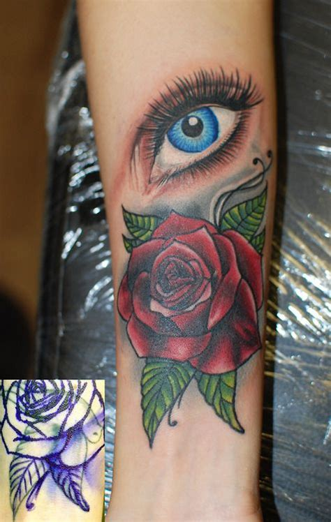 tattoo rose and eye 48 best eye tattoos images on pinterest drawing
