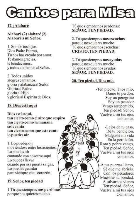 canciones para misa parroquia de san pedro poveda de ja 233 n