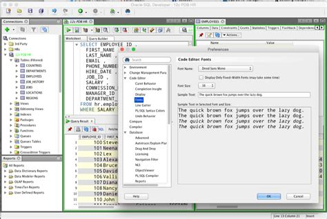 oracle tutorial point setting up oracle sql developer on a mac thatjeffsmith