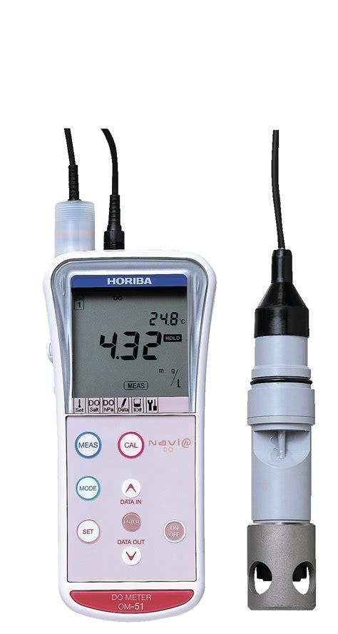 Dissolved Oxygen Meter Horiba horiba om 51 portable dissolved oxygen meter