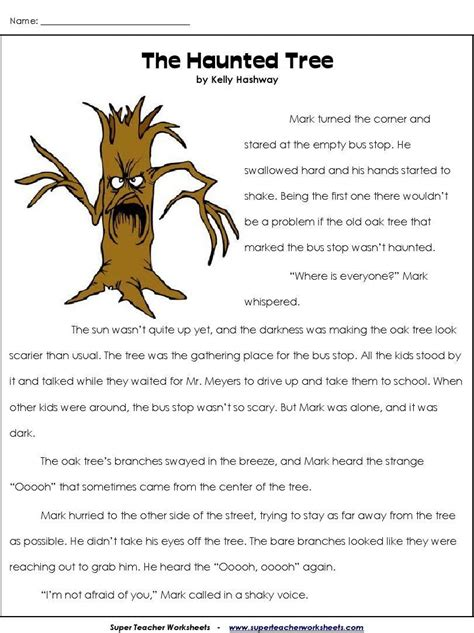 haunted treeword