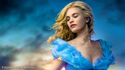 cinderella film preview cinderella lily james in main trailer and video interviews