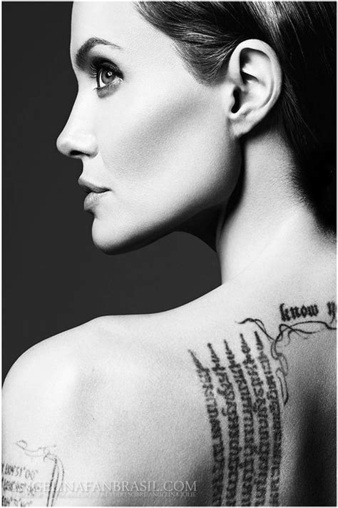 angelina jolie lion tattoo 3d tatouage ang 233 lina jolie galerie tatouage