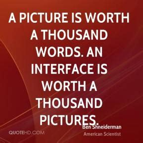 a thousand words a and ã s glimpse of the world books ben shneiderman quotes quotehd
