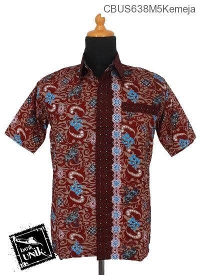 Baju Batik Lengan Pendek Bahan Katun Motif Mega Mendung Warna Abu Abu baju batik sarimbit kemeja katun motif ombak mega mendung