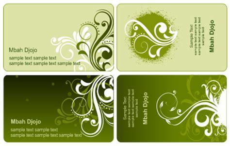 template kartu nama elegan cdr template kartu nama warna hijau belajar coreldraw