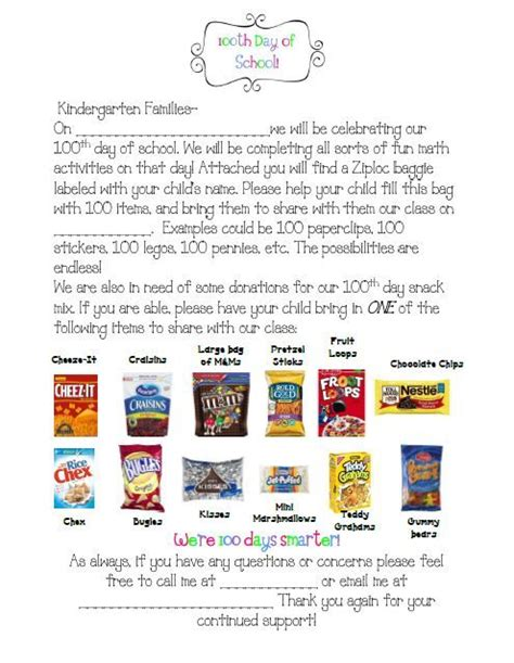 Parent Letter Requesting Snacks 17 Best Ideas About Parent Letters On Letters For Parents School And Open