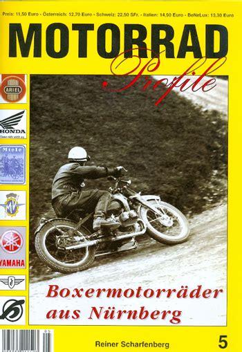 Motorrad Ecke N Rnberg winni scheibe pressemeldung motorrad profile band 5