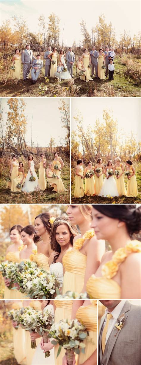 17 Best ideas about Yellow Grey Weddings on Pinterest