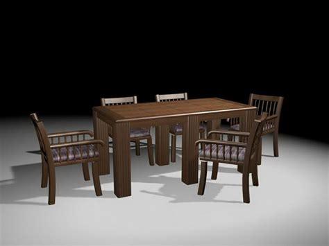 Free Dining Room Set by Formal Dining Room Sets 3d Model 3ds Max Files Free Modeling 25099 On Cadnav