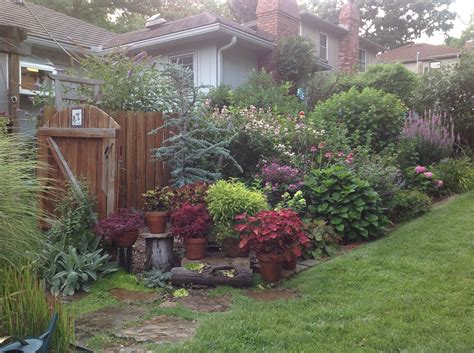 Facing Backyard kathy s garden in missouri day 1 gardening