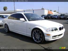 2003 Bmw 3 Series Coupe 2003 Bmw 3 Series 325i Coupe In Alpine White Photo No