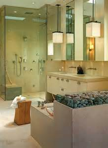 23 spa style master bathrooms