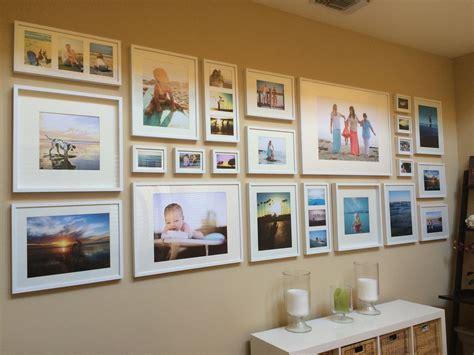 photo frame wall display easy diy tutorial gallery wall with ikea ribba frames