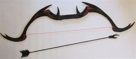 How To Make A Bow And Arrow With Paper - how to make a daedric bow and arrow