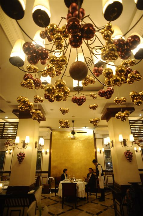 christmas inspirations luxury hotel lobby decoration