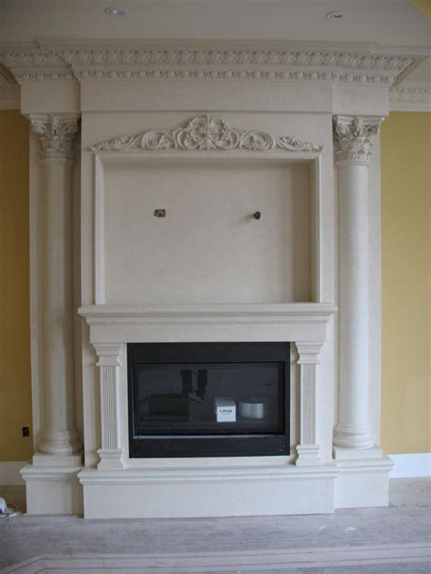 empire plaster moulding fireplace mantels