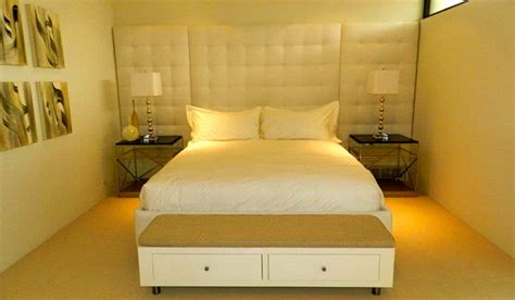 Built In Headboards Custom Built And Upholstered Headboard Contemporary Headboards Orange County By Decorama