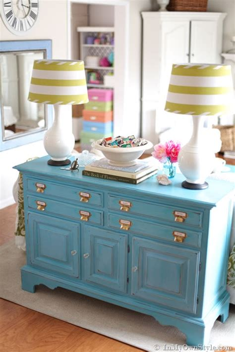 chalk painted furniture by color turquoise chalk paint