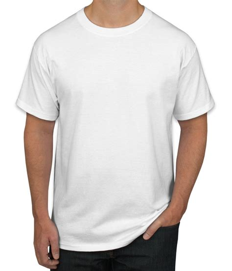 t shirt layout white design custom printed hanes tagless t shirts online at