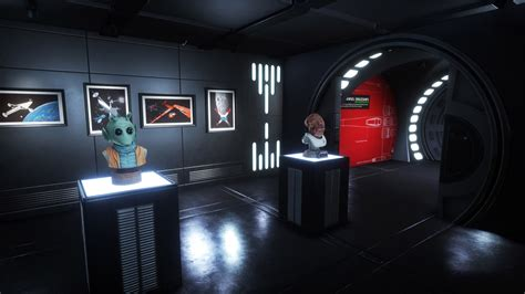 star wars interior design 30 years of lost star wars production art showcased in