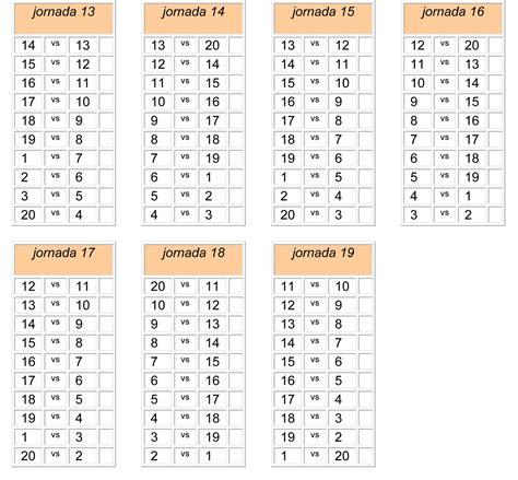 Calendario 7 Equipos F 250 Tbol Y Matem 225 Ticas 2009