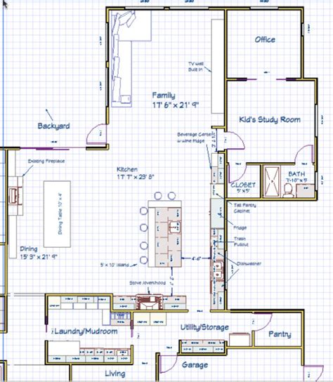 How To Design A Kitchen Island Layout Need Help With Kitchen Island Layout Island Bad Idea