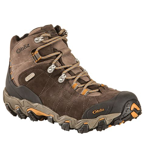 wide mens hiking boots oboz s bridger bdry hiking boots wide