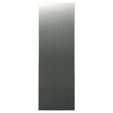metal peel stick tiles pack of 30 stainless steel