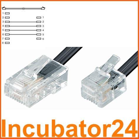 Kabel Telepon Rj11 1 8m White rj45 to rj11 converter wiring diagram somurich