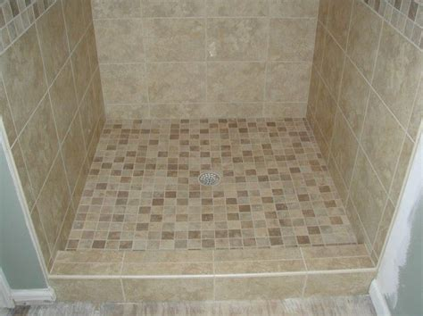 cost to tile bathroom floor marvelous how to tile a shower floor with river rock and