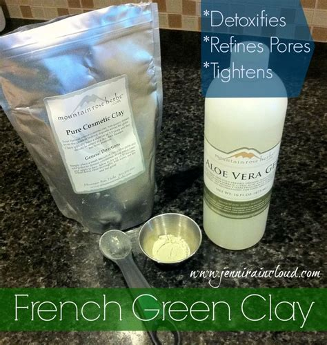Green Clay Detox by Green Clay Excellent For Detoxing Skin And